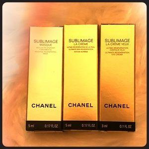 CHANEL Makeup - Chanel 3 set sampler